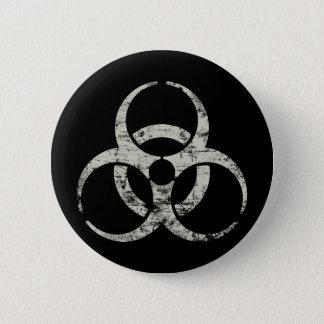 Vintage Nuclear Symbol Button