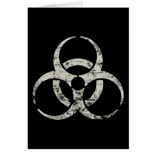 Vintage Nuclear Symbol Greeting Cards