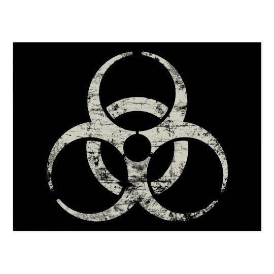 Vintage Nuclear Symbol Postcard