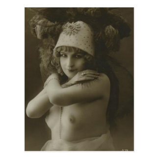 Vintage Nudes (68) Postcard