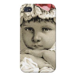 Vintage nuestro mascota 4s iPhone 4/4S fundas