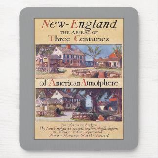 Vintage Nueva Inglaterra Mousepad