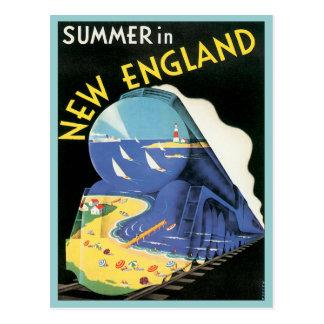 Vintage Nueva Inglaterra Postal