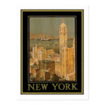 Vintage Nueva York (2) Postal