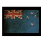 Vintage Nueva Zelanda Postal