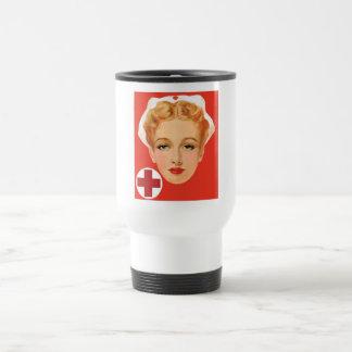 Vintage Nurse Travel Mug