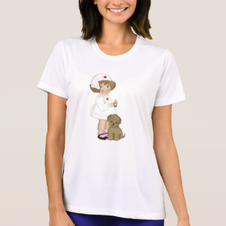 Vintage Nurse With Puppy T-shirts and Gifts
