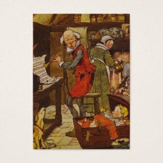 Vintage Nursery Rhyme Illustration Business Card
