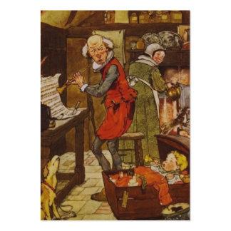 Vintage Nursery Rhyme Illustration Large Business Card