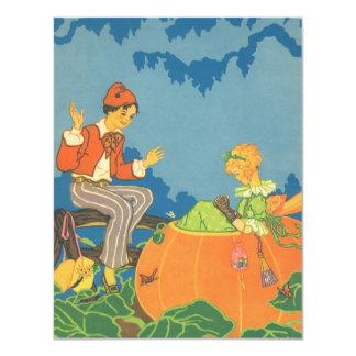 Vintage Nursery Rhyme, Peter Peter Pumpkin Eater Card