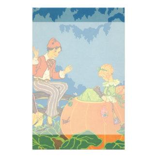Vintage Nursery Rhyme, Peter Peter Pumpkin Eater Stationery