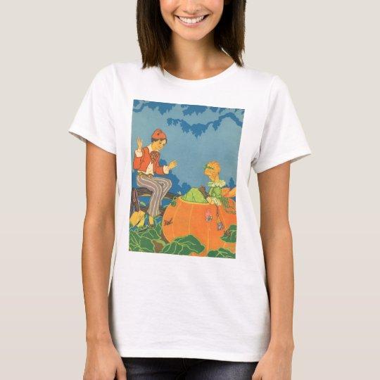 Vintage Nursery Rhyme, Peter Peter Pumpkin Eater T-Shirt