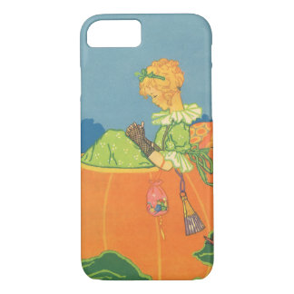 Vintage Nursery Rhyme, Peter  Pumpkin Eater iPhone 8/7 Case