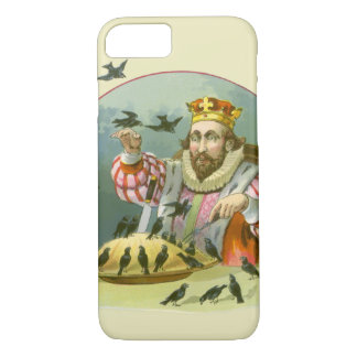 Vintage Nursery Rhyme, Sing a Song of Sixpence iPhone 7 Case