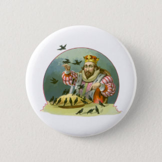 Vintage Nursery Rhyme, Sing a Song of Sixpence Pinback Button