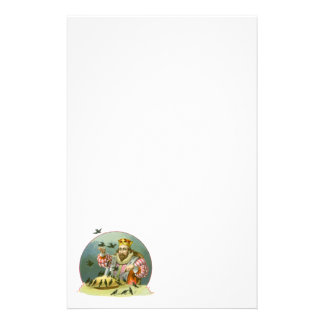 Vintage Nursery Rhyme, Sing a Song of Sixpence Stationery