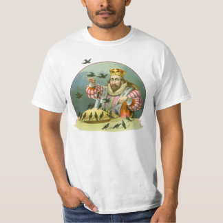 Vintage Nursery Rhyme, Sing a Song of Sixpence T-Shirt