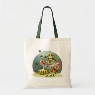 Vintage Nursery Rhyme, Sing a Song of Sixpence Tote Bag