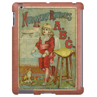 Vintage Nursery Rhymes ABC Children's Book Cover