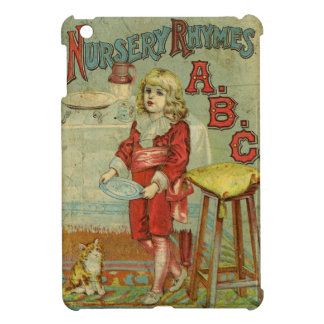 Vintage Nursery Rhymes ABC Children's Book Cover iPad Mini Case