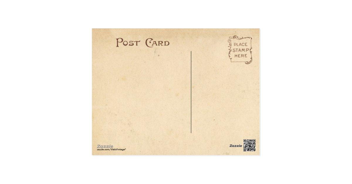 Vintage Book Cover Postcards : Vintage nursery rhymes abc children s book cover postcard