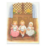 Vintage Nursery Rhymes Baby Shower Party Invitation