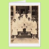 Vintage Nurses Card