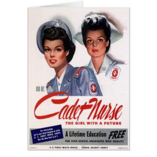 Vintage Nursing Greeting Card