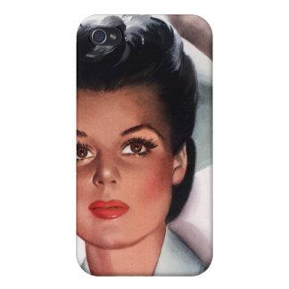 Vintage Nursing iPhone 4 Covers