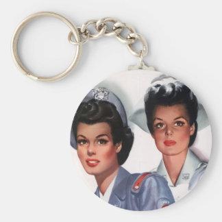 Vintage Nursing Keychains