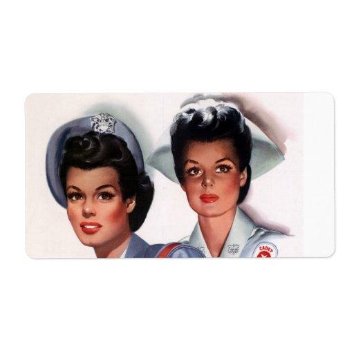 Vintage Nursing Label