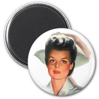 Vintage Nursing Student Nurse Magnet