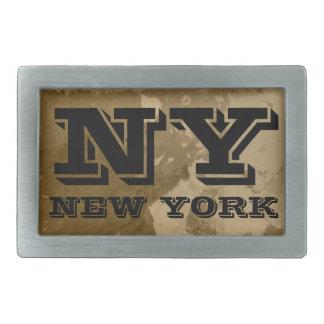 Vintage NY belt buckle | New York Typography