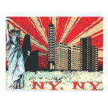 Vintage NY in Red Post Cards
