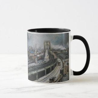 Vintage NYC New York City Brooklyn Bridge Mug