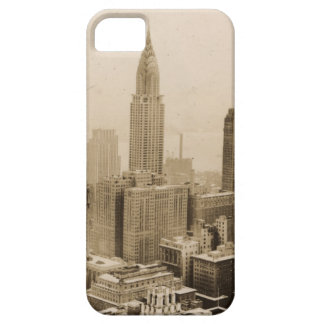 Vintage NYC with Empire State Building iPhone 5 Covers