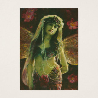Vintage Nymph ACEO Busines Card