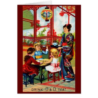 Vintage O&O Tea Card