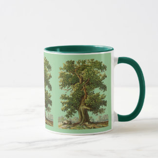 Vintage Oake Trees Coffee Mug