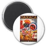 Vintage Oaxaca Mexico 2 Inch Round Magnet