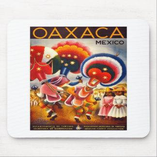 Vintage Oaxaca Mexico Mouse Pad