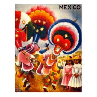 Vintage Oaxaca México Postales