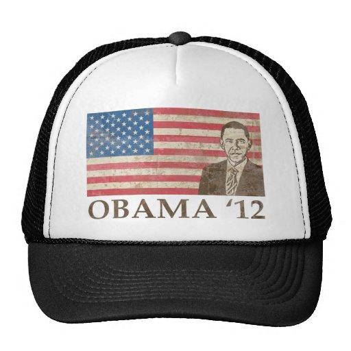 Vintage Obama 2012 Gorras