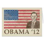 Vintage Obama 2012 Tarjetón