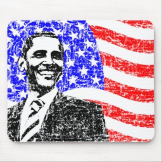 Vintage Obama Mouse Pad