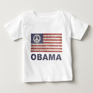 Vintage Obama Peace Baby T-Shirt