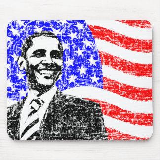 Vintage Obama Tapetes De Ratones