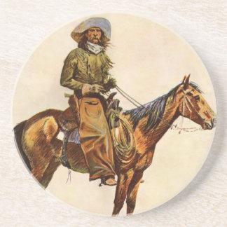 Vintage occidental, vaquero de Arizona por Posavasos Diseño