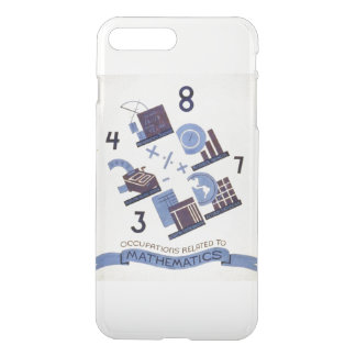 Vintage Occupations Related to Mathematics iPhone 7 Plus Case