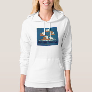 Vintage Occupations Related to Mathematics Poster Hoodie